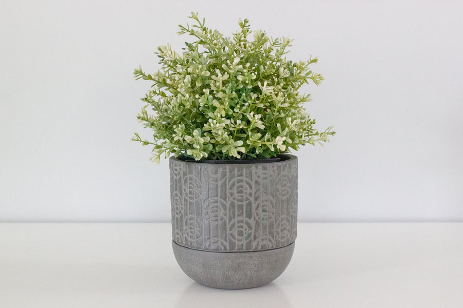 Linnea Planter Pot - Charcoal