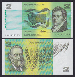 """banknote of  Australia 2 Dollars  in UNC condition"""