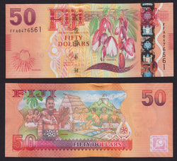 Fiji 50 Dollars ND2013 , P118 / B529