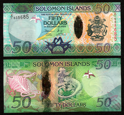 Solomon Islands 50 Dollars ND2013  X/1, P35R / B221aR   UNC
