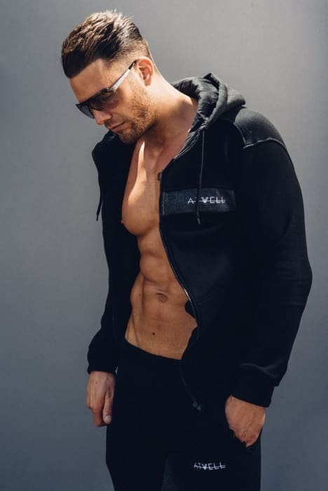 Atwell Elite Full Tracksuit Black - Tracksuits