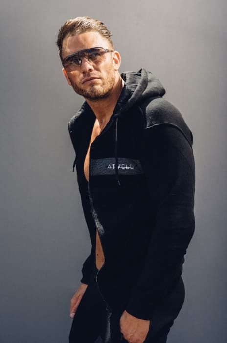 ATWELL ELITE FULL TRACKSUIT BLACK