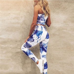 Hawaii Floral Yoga Pants