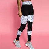 Patchwork Yoga Fitness Leggings