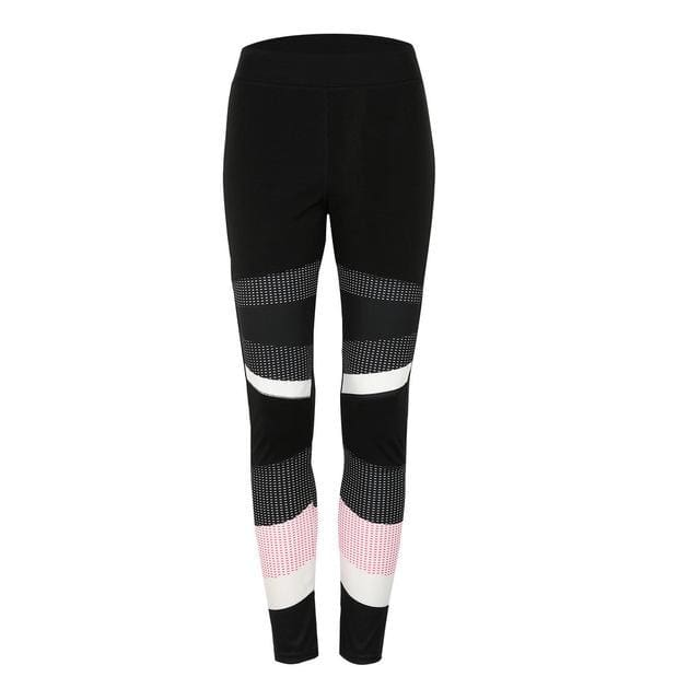 Virtue Print Leggings - Black / S