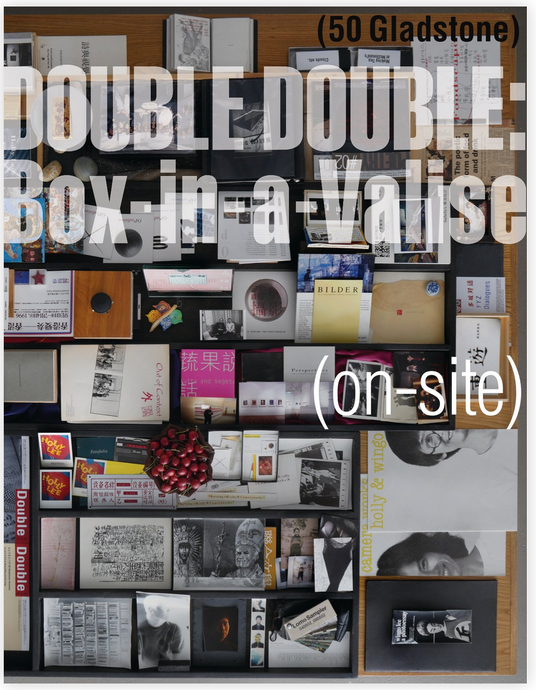 DOUBLE DOUBLE: Box-in-a-Valise (on-site)