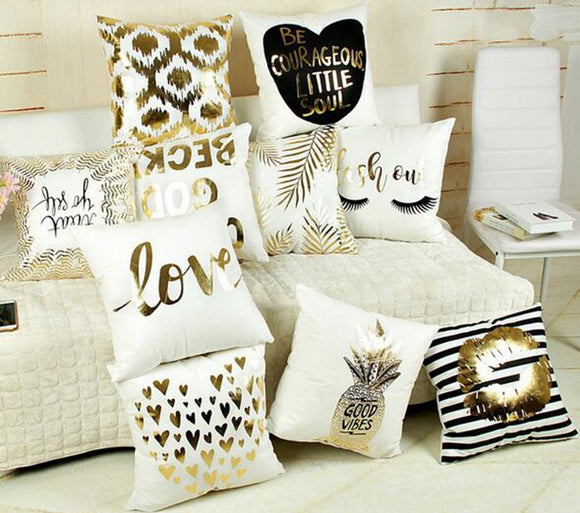 Throw Pillows, Shower Curtains & More