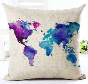 The World Is Yours Decorative Pillow Collection