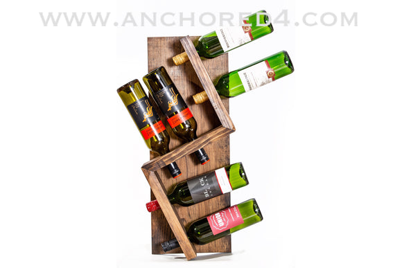 Zig Zag Wine Holder