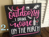Drink on the Porch