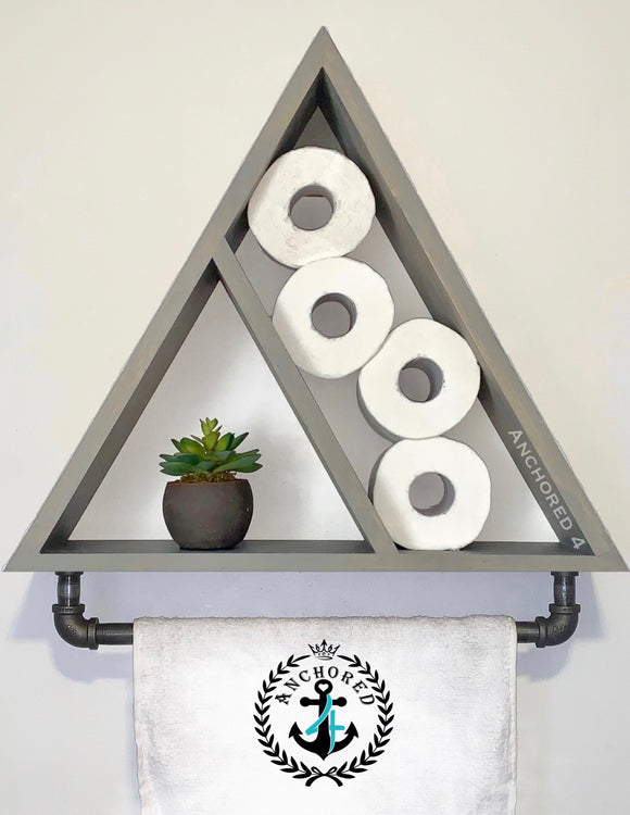 Pyramid Towel Shelf