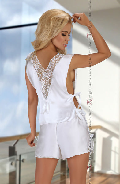 Beauty Night Mellissa White Cami