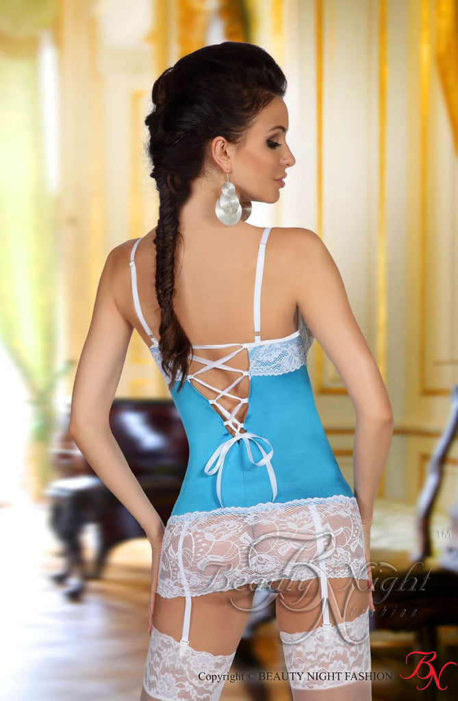 Beauty Night Shirley Chemise Light Blue