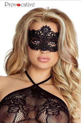 Provocative Black Mask