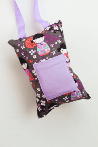 Japanese Kokeshi Doll Tooth Fairy Pillow