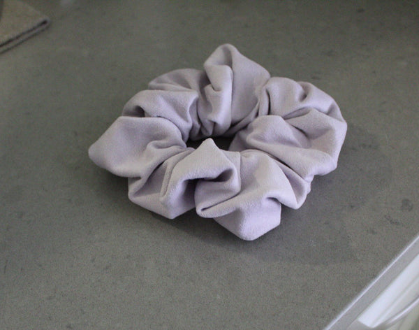 Lavender Hair Scrunchie I The Enchanted Magnolia