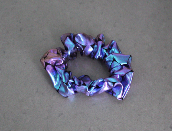 Iridescent Mermaid Hair Scrunchie  - The Enchanted Magnolia