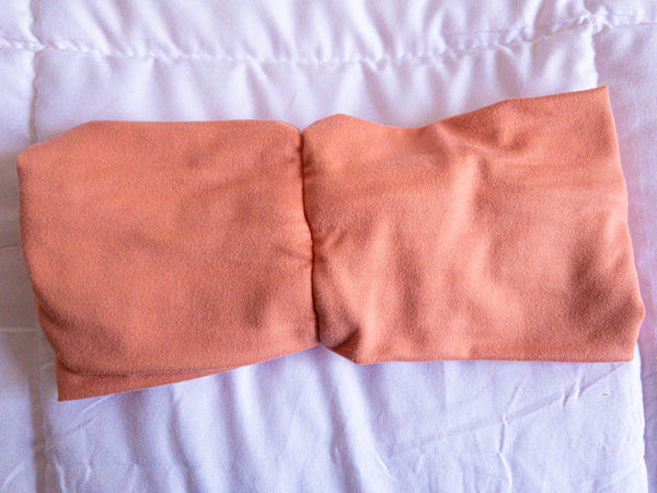 Salmon Twisted Turban Headband I The Enchanted Magnolia