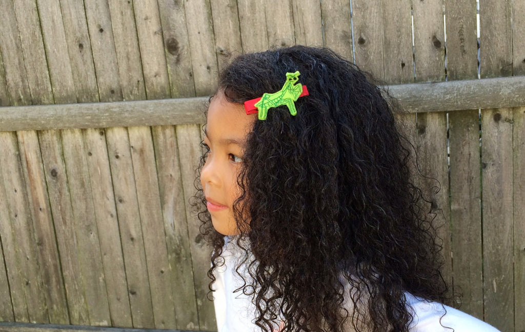 Praying Mantis Hair Barrette Clips -The Enchanted Magnolia