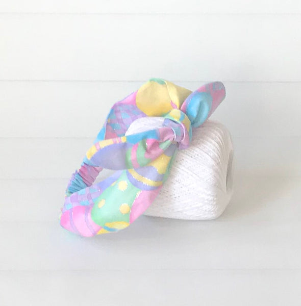 Easter Egg Toop Knot Headband-The Enchanted Magnolia