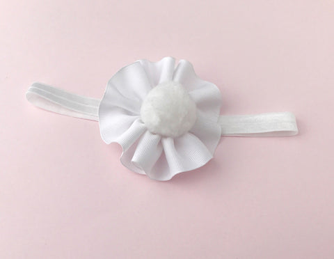 Easter Bunny Tail Headband - The Enchanted Magnolia