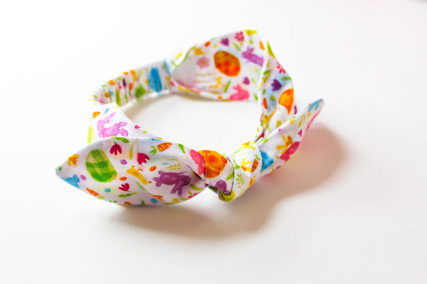 Easter Top Knot Headband I The Enchanted Magnolia