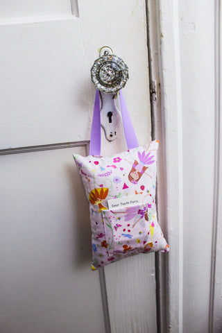 Girls Tooth Fairy pillow Keepsake Gift