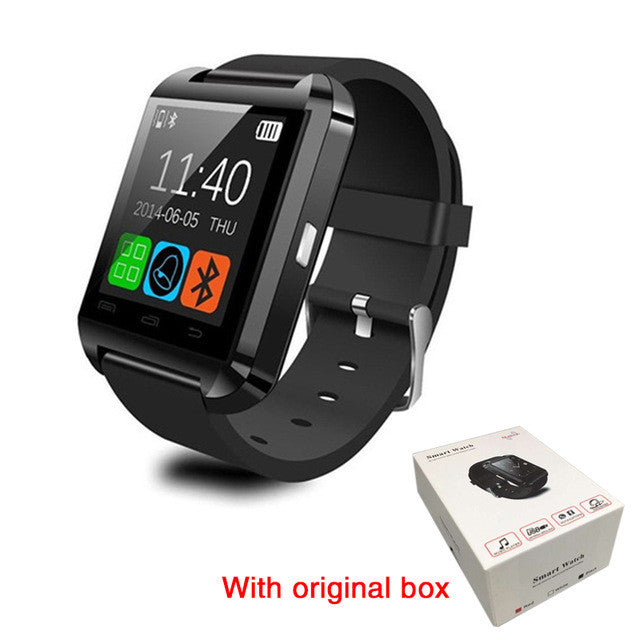 premium selection 41026 29c35 Original Bluetooth Smart Watch U8 Smartwatch U Watch For iOS iPhone Samsung  Sony Huawei Xiaomi Android Phones smart watch russia