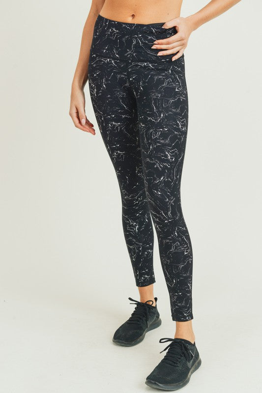 Marble Activewear Set - Legging