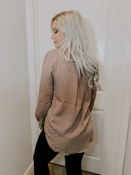 Latte Season Blouse