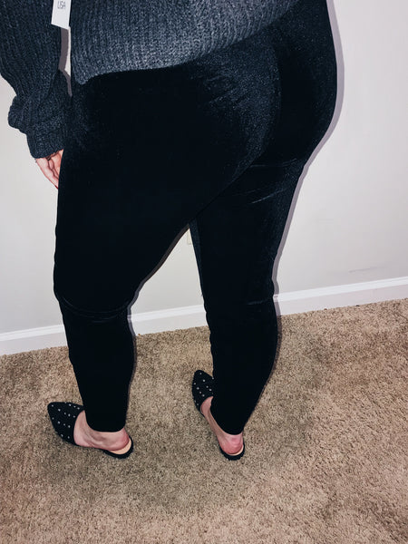 Velvet Leggings - kaceclosed