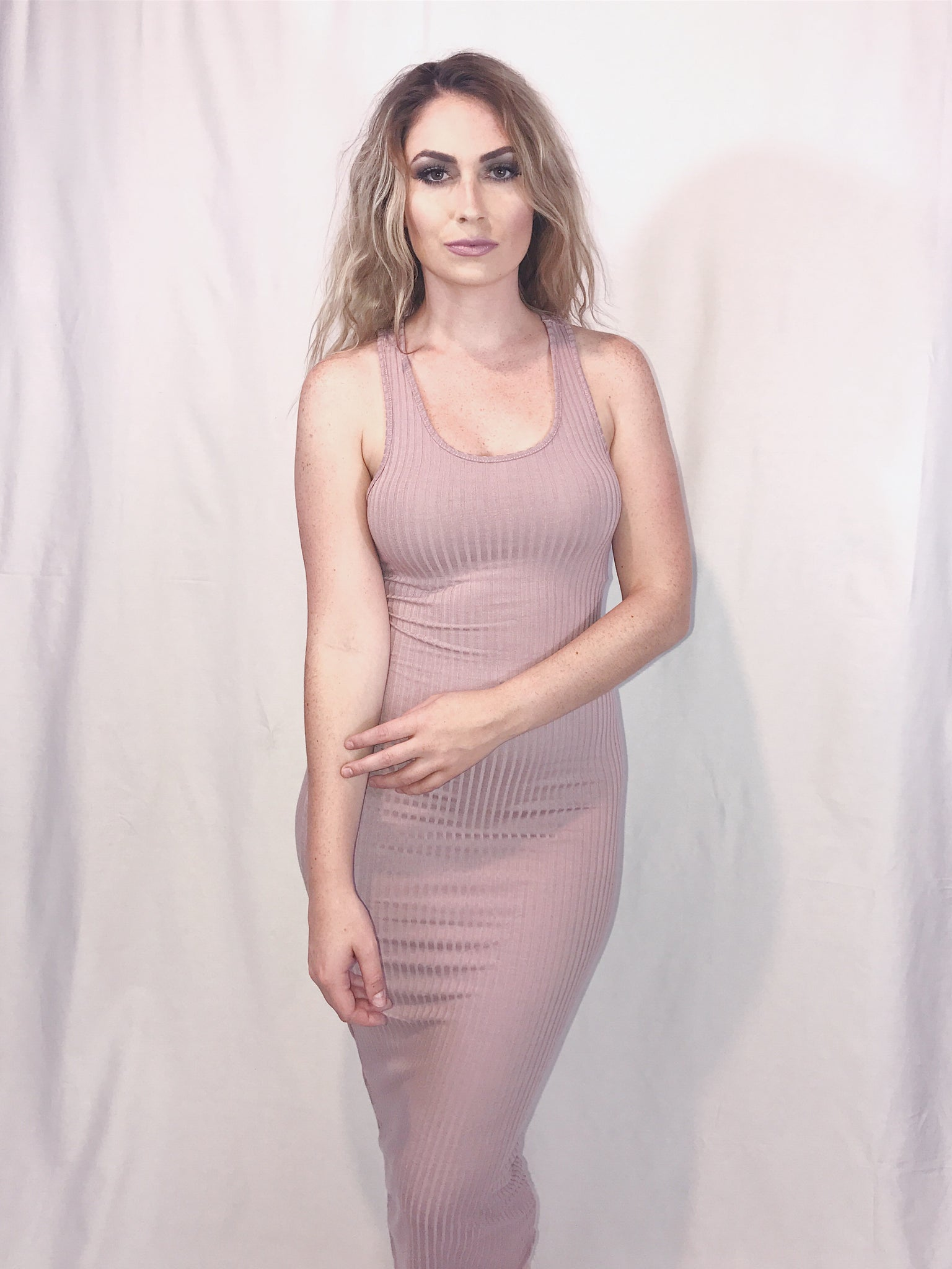 Bodycon Midi Tank Dress - kaceclosed