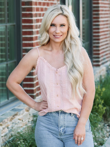 Charleston Cami - Blush