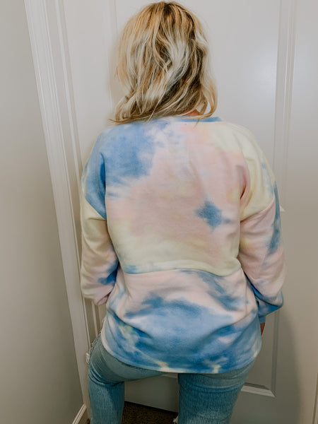 Cotton Candy Crewneck
