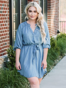 South Beach Chambray Dress
