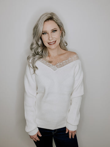 Romance Lace Sweater