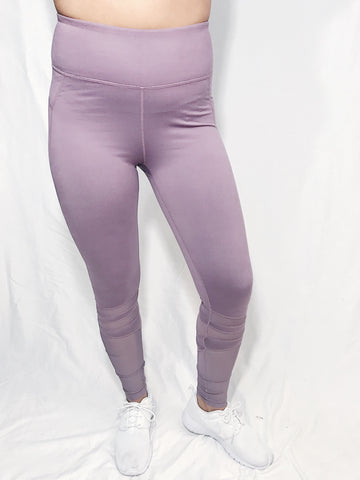 High Waisted Mesh Leggings - kaceclosed