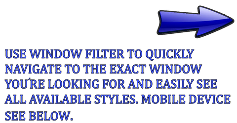 Van Windows Direct - Van Window Filter - Sprinter Van Windows 07-18