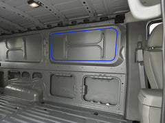 Nissan NV1500,NV2500,NV3500 Van Window Installation cut out windows for NV Van