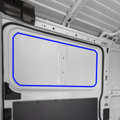 RAM Promaster Van Window, Sliding Door How to install