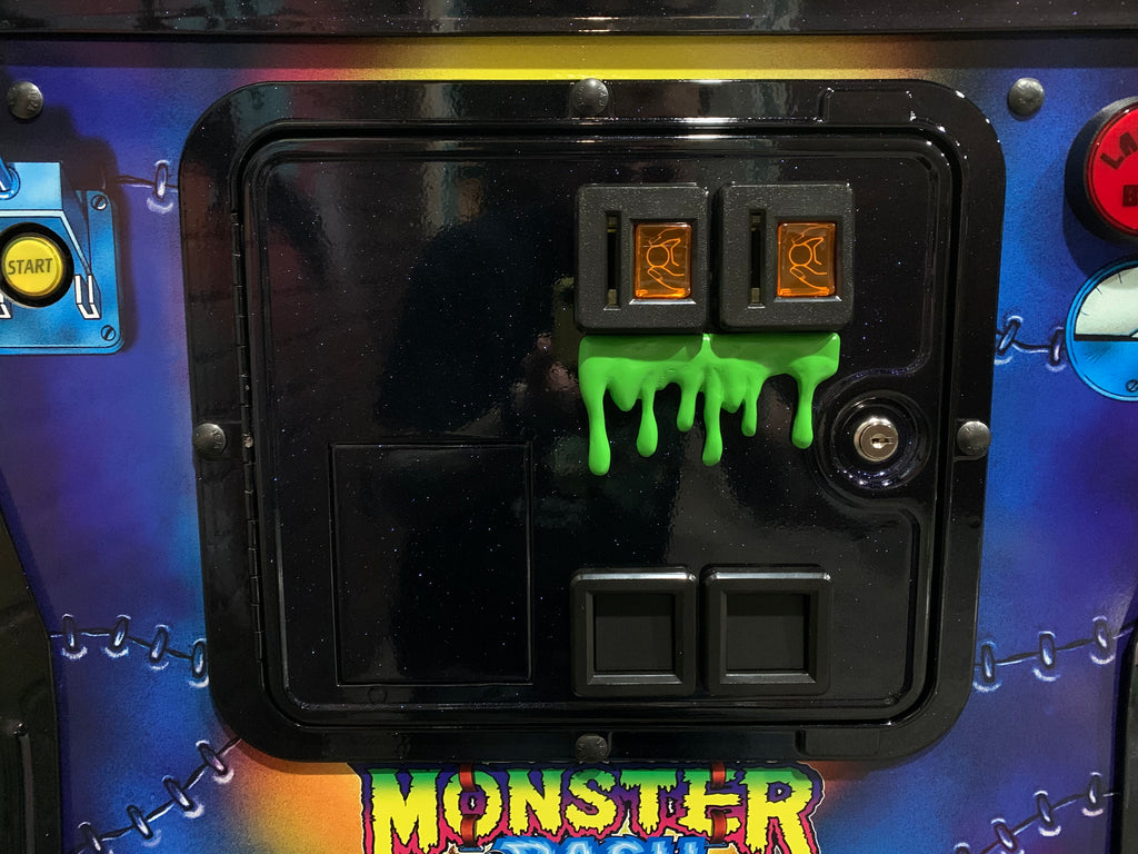 Monster Bash Coin Door Slime and Blood