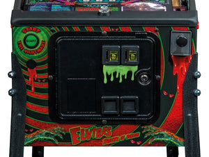Elvira House of Horrors Pinball Dripping Blood Coin Door Mod