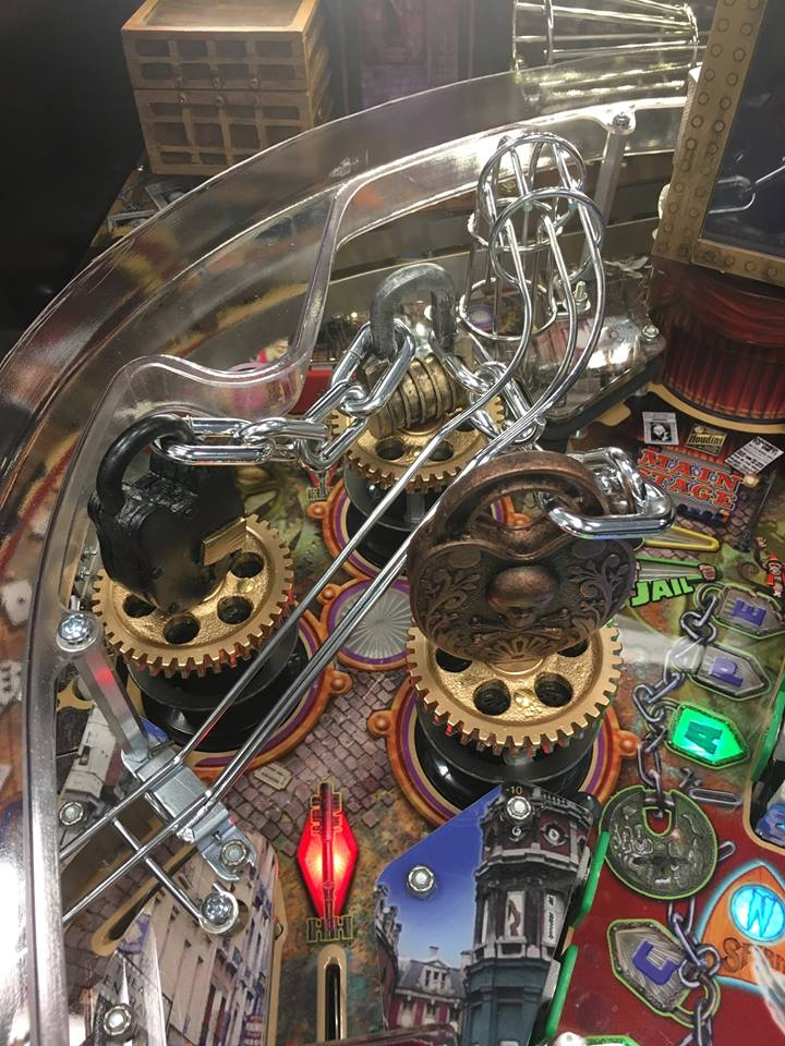 Houdini Game is released at Texas Pinball Festival