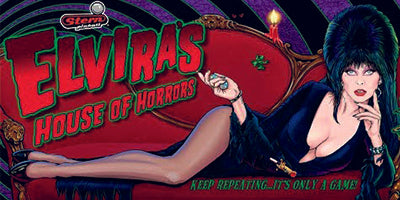 Elvira House of Horrors Pinball Mods