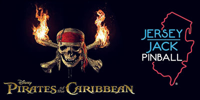 Pirates of the Caribbean Jersey Jack Pinball Mods