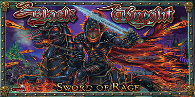 Black Knight Sword of Rage Pinball Mods