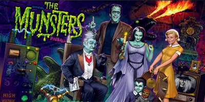 Munsters Pinball Mods