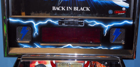 Blue-White Lightning AC/DC Speaker Panel