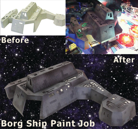 Borg Ship Paint Job