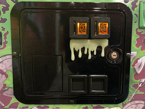 Glow in the Dark Dripping Slime for coin door